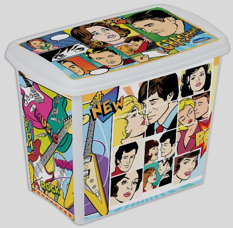 Box 7,8 l Comics plast -